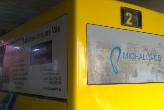 Reklama na autobuse